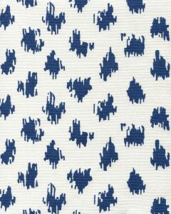 7340-06 ZIZI SPOT Navy on White Quadrille Fabric