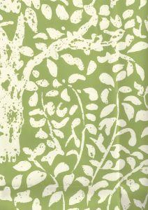2035-02WP ARBRE DE MATISSE REVERSE Jungle Green Quadrille Wallpaper