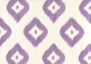 9040-04WP BALI DIAMOND Lilac On Almost White Quadrille Wallpaper