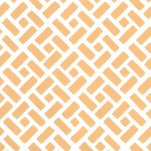 2220-05WP EDO Inca Gold On Almost White Quadrille Wallpaper