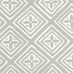 2490-41WP FIORENTINA Gray On Almost White Quadrille Wallpaper