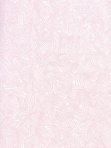 AP404-02 INTERWEAVE Soft Pink On Almost White Quadrille Wallpaper
