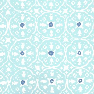 149-59WP NITIK II New Blue Blue On Almost White Quadrille Wallpaper