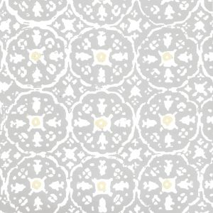 149-54WP NITIK II Polar Gray Cream Quadrille Wallpaper