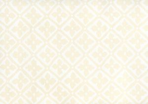 306330W-00 PUCCINI White On Off White Quadrille Wallpaper