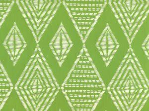 AP855-15 SAFARI Lime On Almost White Quadrille Wallpaper
