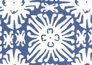2485WP-08 SIGOURNEY REVERSE SMALL SCALE New Navy On White Quadrille Wallpaper