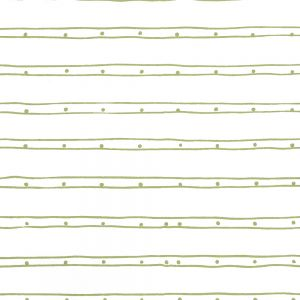 AP209-12 SOHO Jungle Green Off White Quadrille Wallpaper