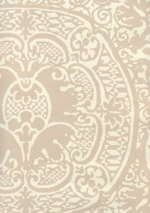 352000W-06OWP VENETO Pumice On Off White Quadrille Wallpaper