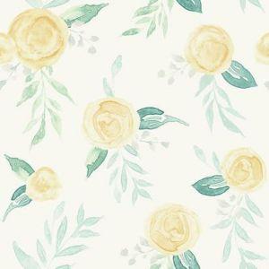 MK1127 Watercolor Roses York Wallpaper