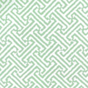 3080-10WP JAVA JAVA Celadon On White Quadrille Wallpaper