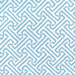 3080-25WP JAVA JAVA Aqua On White Quadrille Wallpaper