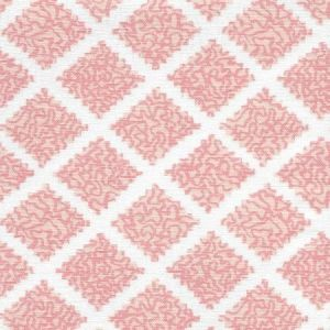 JF01000-02 SHANGHAI Pinks on White Quadrille Fabric