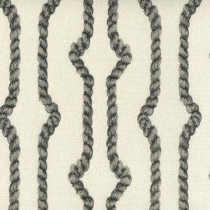 JF01010-08TLC REGENCY ROPES Multi Gray on Tint Quadrille Fabric