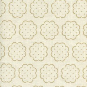 JF01060-01 SYBIL Beige on Tint Quadrille Fabric