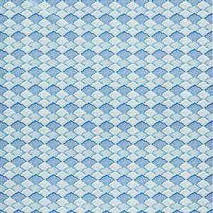 JP 0003 4660 AKIRA Porcelain Blue Scalamandre Fabric