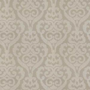LARIMAR DAMASK Platinum Fabricut Fabric