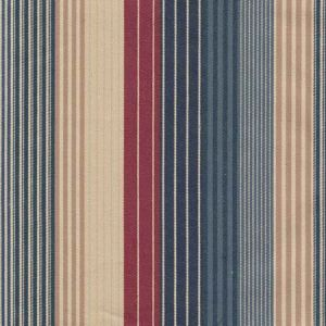 LCF24304F MOUNTAIN LAKE STRIPE Blue Ralph Lauren Fabric