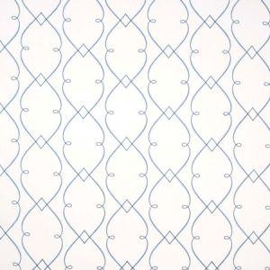 LEMONADE STAND Azure Carole Fabric