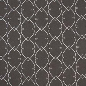 LEMONADE STAND Charcoal Carole Fabric