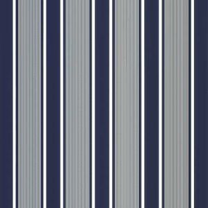 LFY66671F SUPER YACHT STRIPE Navy Ralph Lauren Fabric