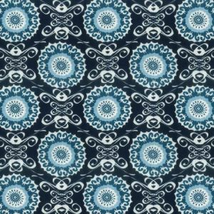 Midsummer 3 Navy Stout Fabric