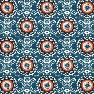 Midsummer 4 Slate Stout Fabric