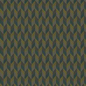MILAGROS CHEVRON Juniper Stroheim Fabric