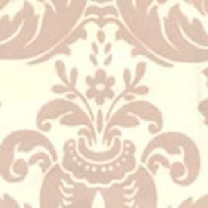 302149W MONTY Pumice On Off White Quadrille Wallpaper