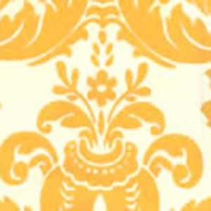 302156W MONTY Maize On Off White Quadrille Wallpaper