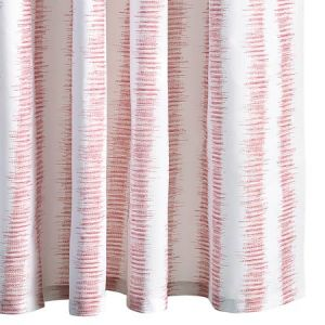 MSC001SHOPG ATTLEBORO Pink Coral Schumacher Shower Curtain