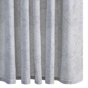 MSC003SHONK BURNETT Nickel Schumacher Shower Curtain