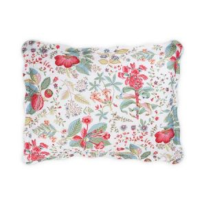 MSC006QKSHAPG POMEGRANATE Pink Coral Schumacher Quilted King Sham