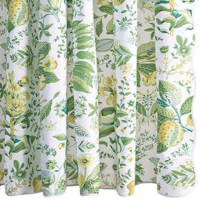 MSC006SHOCI POMEGRANATE Citrus Schumacher Shower Curtain