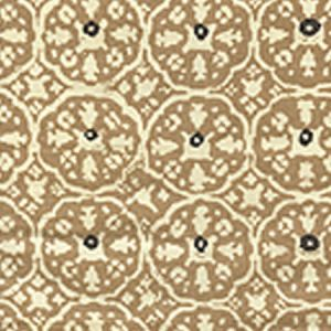 149-43WP NITIK II Camel II On Almost White Quadrille Wallpaper