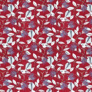 Onlooker 5 Red Stout Fabric