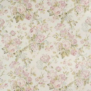P2018106-103 GARDEN ROSES WP Lilac Moss Lee Jofa Wallpaper