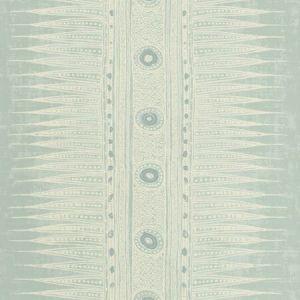 P2018107-135 INDIAN ZAG PAPER Aqua Lee Jofa Wallpaper