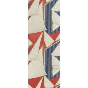 P2018109-195 ST TROPEZ WP Red Blue Lee Jofa Wallpaper