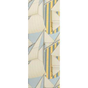 P2018109-405 ST TROPEZ WP Blue Yellow Lee Jofa Wallpaper