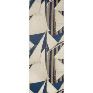 P2018109-505 ST TROPEZ WP Navy Marine Lee Jofa Wallpaper