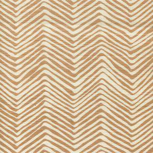 AC303-36 PETITE ZIG ZAG Camel II on Tint Quadrille Fabric