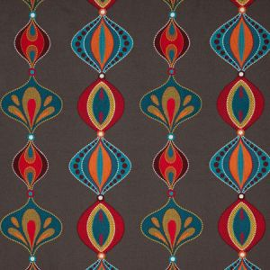 PF50471/1 VIVA Teal Spice Baker Lifestyle Fabric