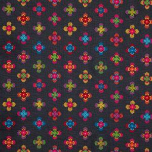 PF50473/1 MIDNIGHT GARDEN Indigo Baker Lifestyle Fabric