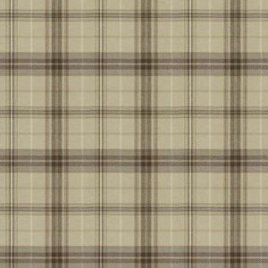 PHOENIX Plaid Oyster Fabricut Fabric