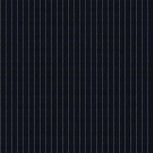 PINSTRIPE Navy Fabricut Fabric