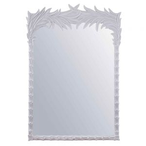 Santa Monica Mirror, White by Source 4 Interiors