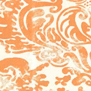 2330-31WP SAN MARCO New Shrimp On Off White Quadrille Wallpaper
