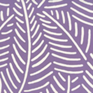 CP1025W-06 SAUVAGE REVERSE Dark Lilac On Almost White Quadrille Wallpaper