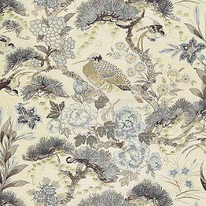 SC 0001WP88380 WP88380-001 SHENYANG SISAL Parchment Scalamandre Wallpaper